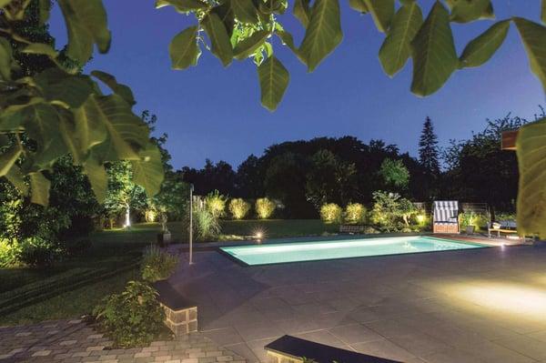 Smart-Home-Außenbeleuchtung