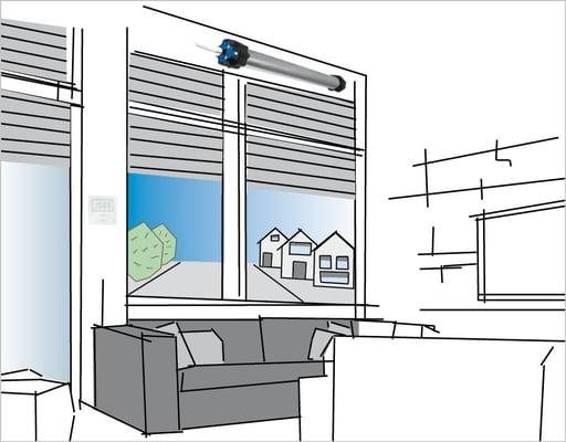 Smart-Home-Sicht-Sonnenschutz