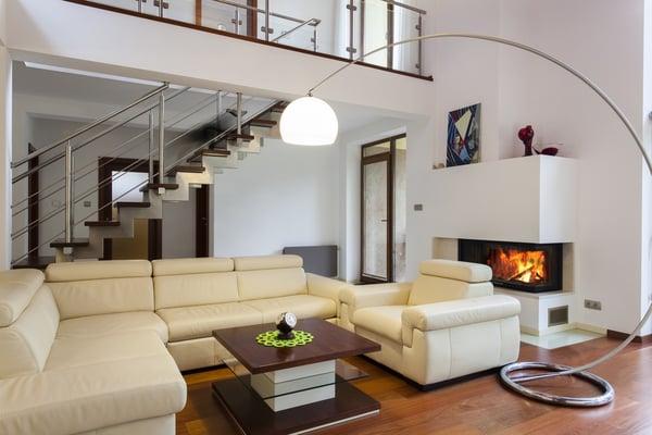 Smart-Home-Wohnzimmer